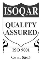 ISOQAR Quality Assured - Cert. 8563