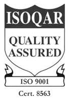ISOQAR Quality Assured - Cert. 8563